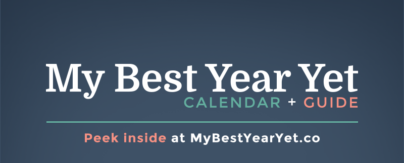 Introducing: My Best Year Yet Calendar + Guide for Female Entrepreneurs