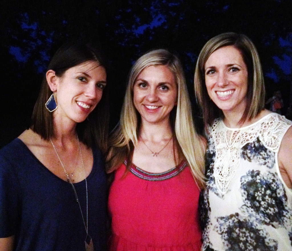 friends at Austin Moms Blog Moms Night Out 2016